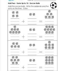 add two - soccer balls
