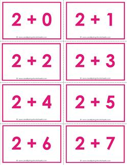 Decisive image in printable addition flashcards