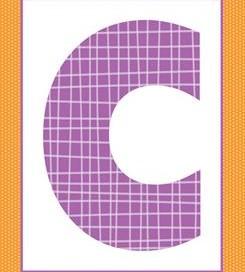 alphabet letter c -