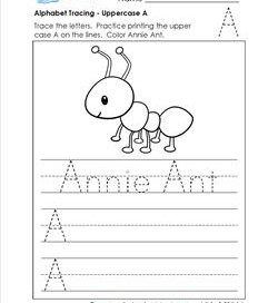 Alphabet Tracing Pages - Uppercase Letters | A Wellspring
