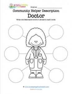 Community Helper Description - Doctor