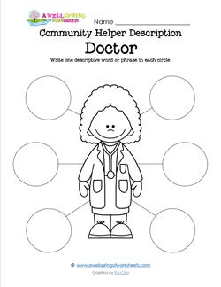 Community Helper Description - Doctor