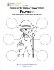 Community Helper Description - Farmer