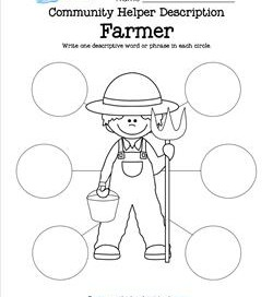 Community Helper Description - Farmer