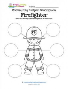 Community Helper Description - Firefighter