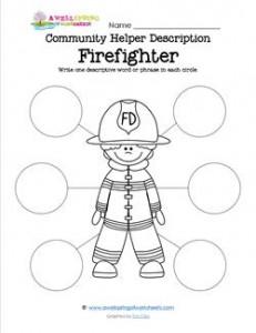 Community Helper Description - Firefighter