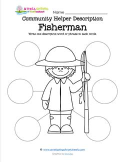 Community Helper Description - Fisherman