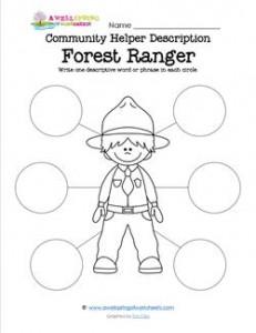 Community Helper Description - Forest Ranger