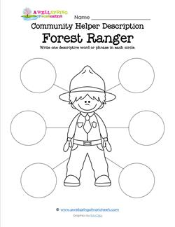 Community Helper Description - Forest Ranger