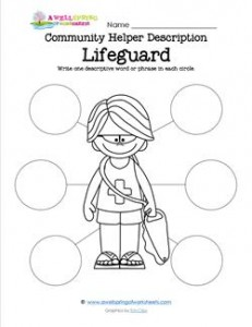 Community Helper Description - Lifeguard