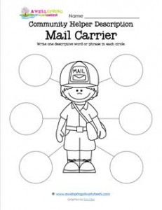 Community Helper Description - Mail Carrier