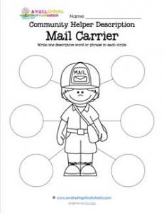 Community Helper Description - Mail Carrier