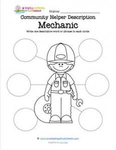 Community Helper Description - Mechanic