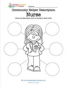 Community Helper Description - Nurse