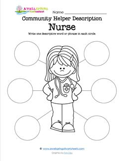 Community Helper Description - Nurse