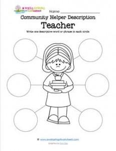 Community Helper Description - Teacher