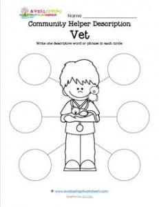 Community Helper Description - Vet