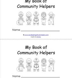 Community Helpers Book - My Book of Community Helpers
