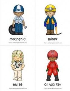 Community Helpers Flash Cards - Page 4 of 6