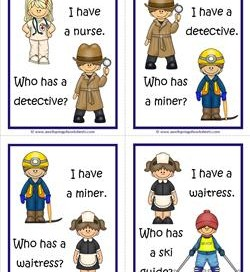 Community Helpers I Have Who Has - Page 4 of 6