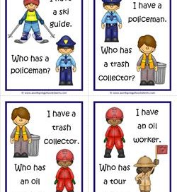 Community Helpers I Have Who Has - Page 5 of 6