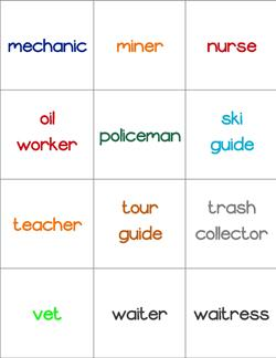 Community Helpers Matching Game - Page 4 of 4