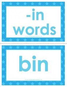 cvc word cards -in words