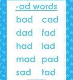 Cvc Words List Short Vowel Word Lists Kindergarten Phonics - 21+ Cvc Worksheets For Kindergarten Pictures