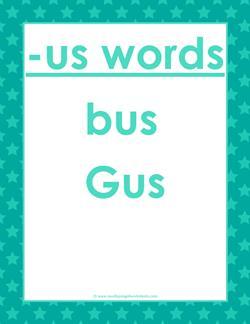 cvc words list -us words
