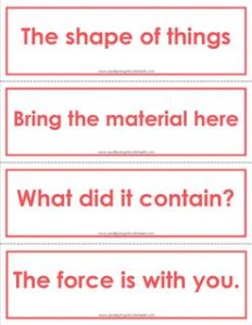 fry phrases flash cards - the fifth 100 - color