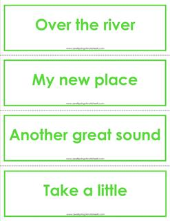 fry phrases flash cards - the second 100 - color