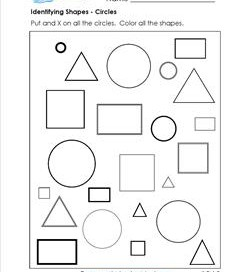 identifying shapes - circles