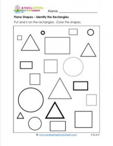 Identifying Shapes - Rectangles