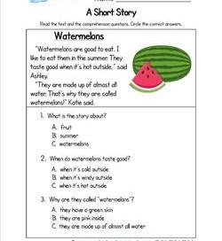 Printables Short Stories Worksheets short stories reading comprehension worksheets scalien story scalien