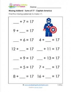 Wfun Small T X as well Picture Word Problems Repeated Addition Multiplication Four Pictures On First Grade Math Worksheet Pixels Missing Addend   Easy Ideas Kids Worksheets St Printable For Nd X furthermore Missing Addend Sums Of Captain America Premium X as well Bf Ee Cd C Dc D Fb E further De A B F Cf B C Feb. on 1st grade math missing addend
