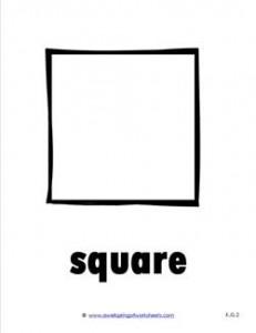 plane shape - square - b&w