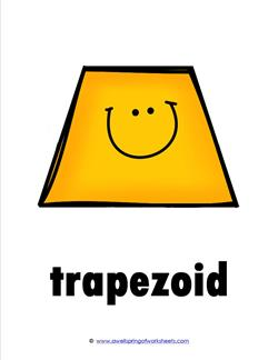 plane shape - trapezoid - smile