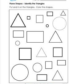 triangles worksheets kindergarten shapes a wellspring. Black Bedroom Furniture Sets. Home Design Ideas