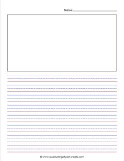 Printable Primary Paper  SuperTeacherWorksheets