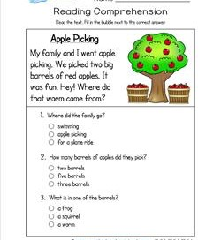 math worksheet : reading comprehension worksheets  a wellspring : Reading Comprehension Worksheets Multiple Choice