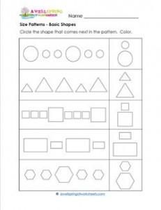 size patterns basic shapes a wellspring. Black Bedroom Furniture Sets. Home Design Ideas