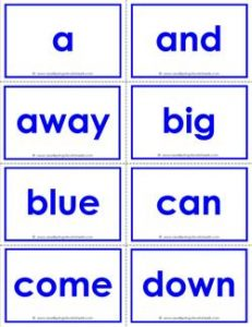 dolch sight word flash cards pre primer sight words flashcards
