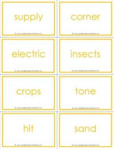 fry words flash cards - the ninth 100 - high frequency words flashcards