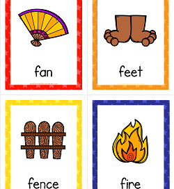 Things that Start with A to Z Cards | A Wellspring of Worksheets