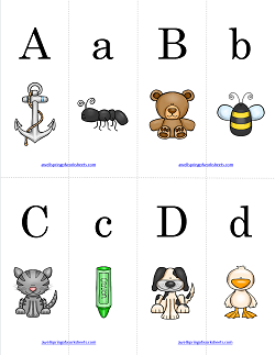 Alphabet Match - Match the Pictures | Alphabet Matching