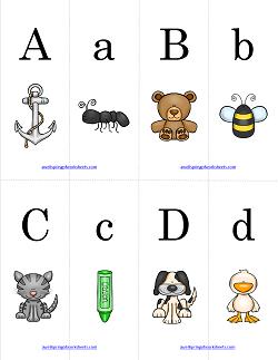 Alphabet Match - Match the Pictures | Alphabet Matching