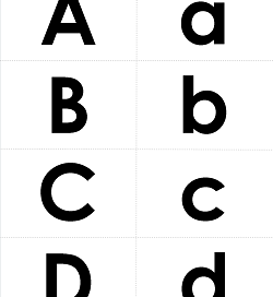 Letter Match - Match the Uppercase and Lowercase Letters | Alphabet Matching