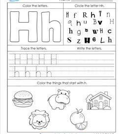 ABC Worksheets Alphabet Worksheets