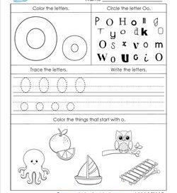 letter o worksheets alphabet worksheets letter worksheets for kindergarten 1376