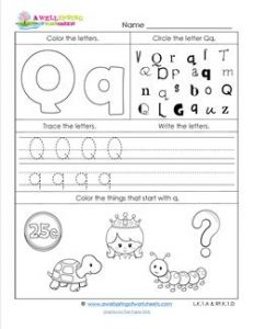 ABC Worksheets - Letter Q - Alphabet Worksheets